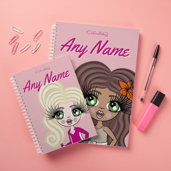ClaireaBella Girls Hardback Notebook - Close Up - Image 2