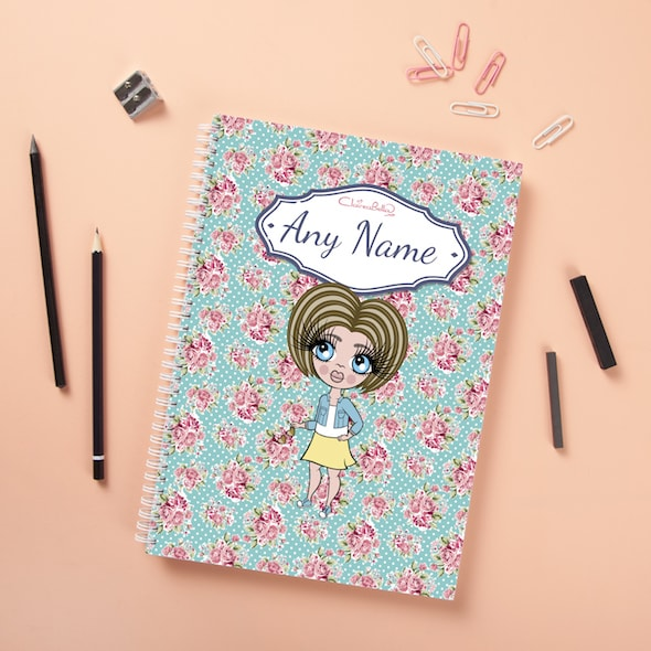 ClaireaBella Girls Hardback Notebook - Rose - Image 2