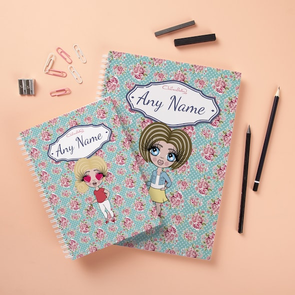 ClaireaBella Girls Hardback Notebook - Rose - Image 3