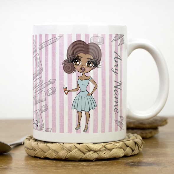ClaireaBella Mug - Teacher Stripes - Image 2