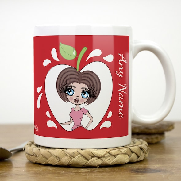 ClaireaBella Mug - Teacher's Apple - Image 1