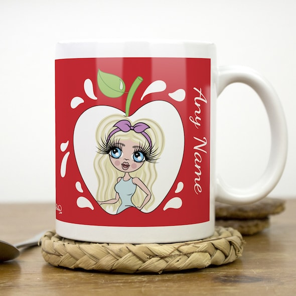 ClaireaBella Mug - Teacher's Apple - Image 2