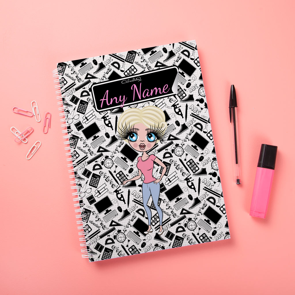 ClaireaBella Hardback Notebook - Teacher's Notes - Image 1
