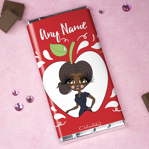 ClaireaBella Chocolate Bar - Teacher's Apple - Image 1