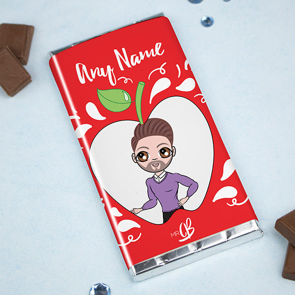 MrCB Chocolate Bar - Teacher's Apple - Image 1