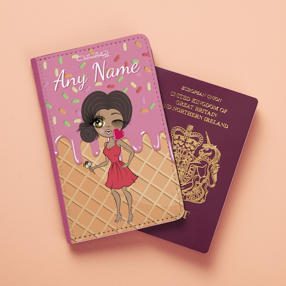ClaireaBella Ice Cream Passport Cover - Image 1