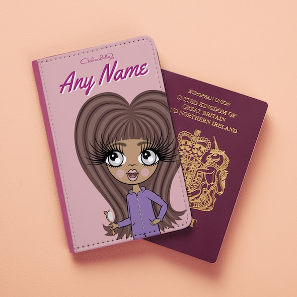 ClaireaBella Girls Close Up Passport Cover - Image 1