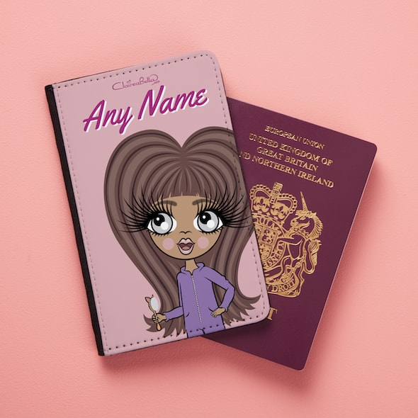 ClaireaBella Girls Close Up Passport Cover - Image 2