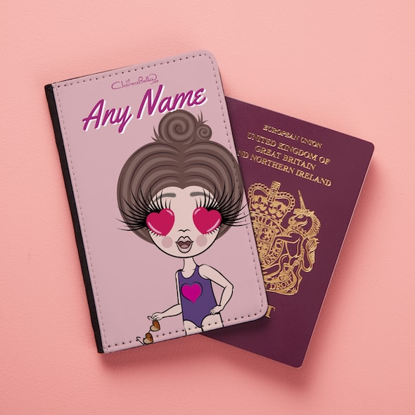 ClaireaBella Girls Close Up Passport Cover - Image 4