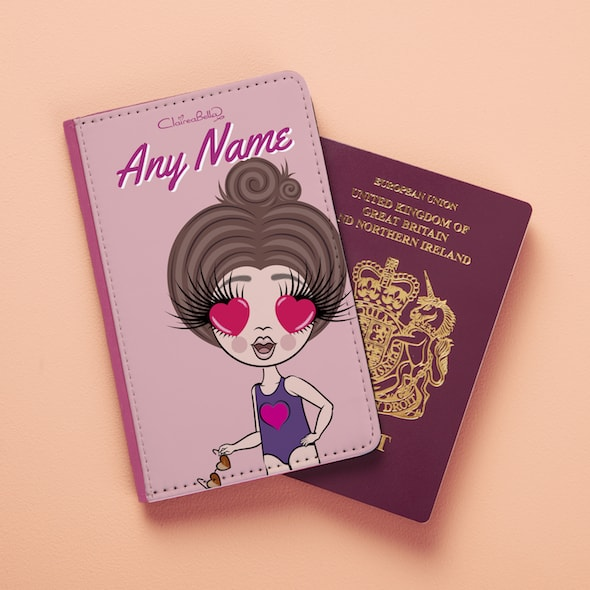 ClaireaBella Girls Close Up Passport Cover - Image 3