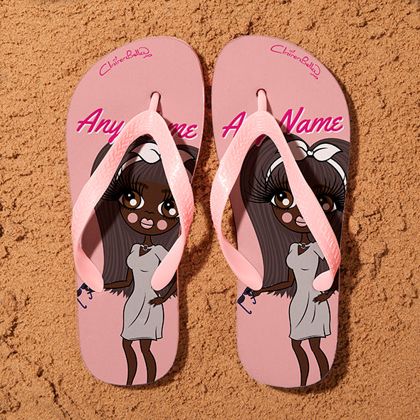 ClaireaBella Close Up Flip Flops - Image 1