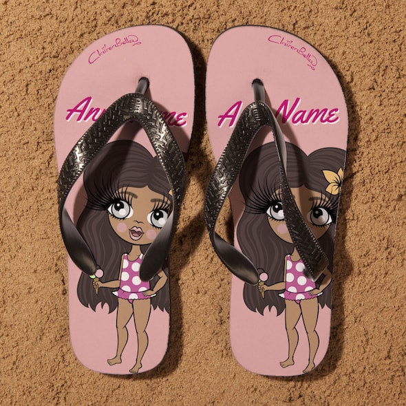 ClaireaBella Girls Close Up Flip Flops - Image 3