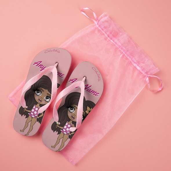 ClaireaBella Girls Close Up Flip Flops - Image 5