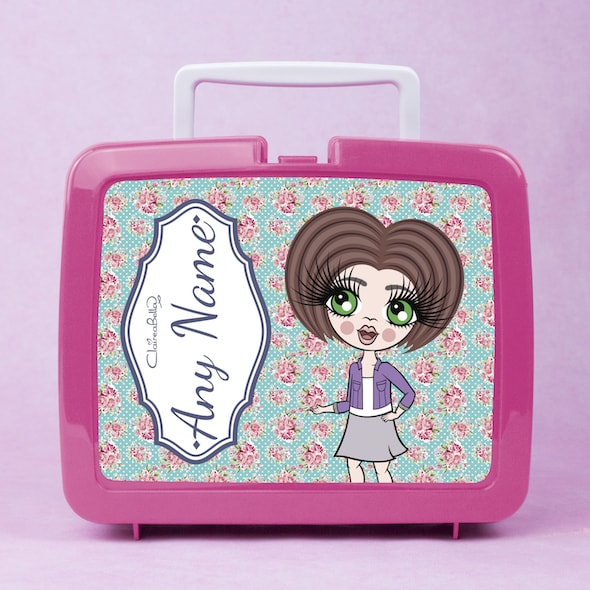 ClaireaBella Girls Rose Lunch Box - Image 1