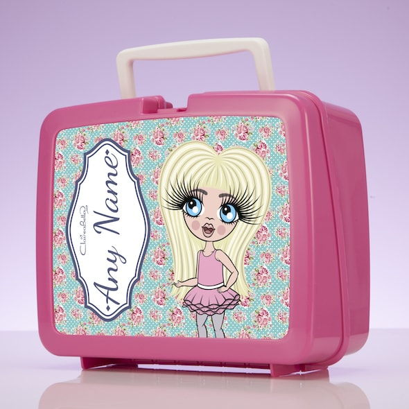 ClaireaBella Girls Rose Lunch Box - Image 2