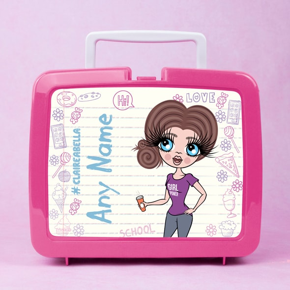 ClaireaBella Notebook Print Lunch Box - Image 4