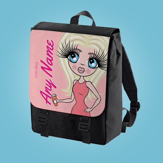 ClaireaBella Close Up Large Backpack - Image 1