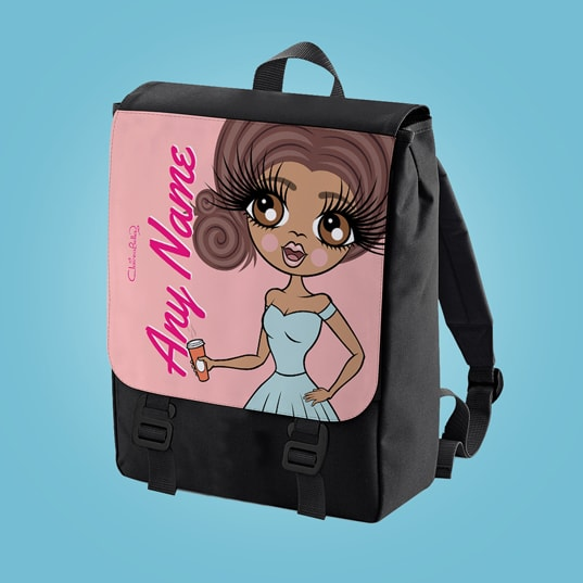 ClaireaBella Close Up Large Backpack - Image 3