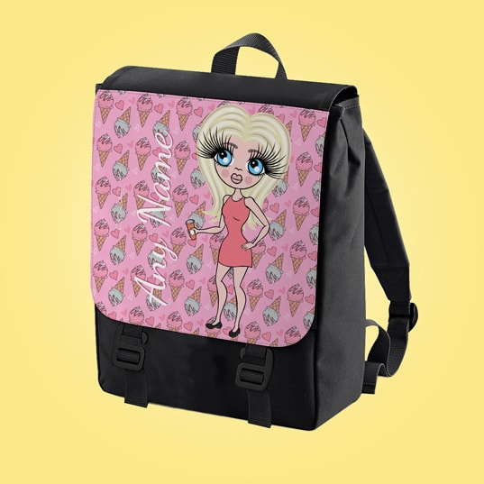 ClaireaBella Ice Cream Large Backpack - Image 2