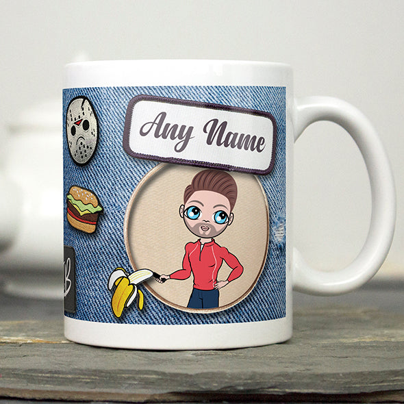 MrCB Denim Effect Mug - Image 1
