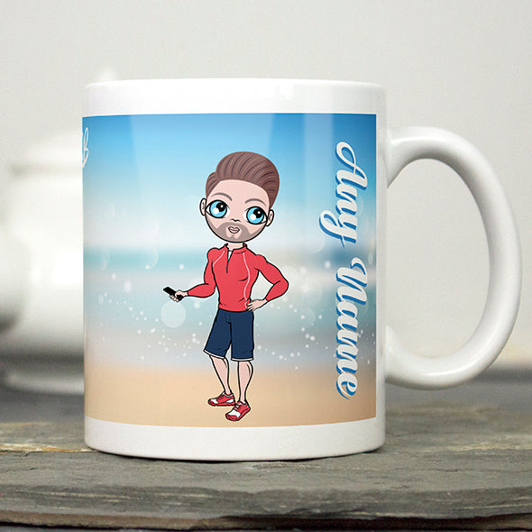 MrCB Beach Colours Mug - Image 4