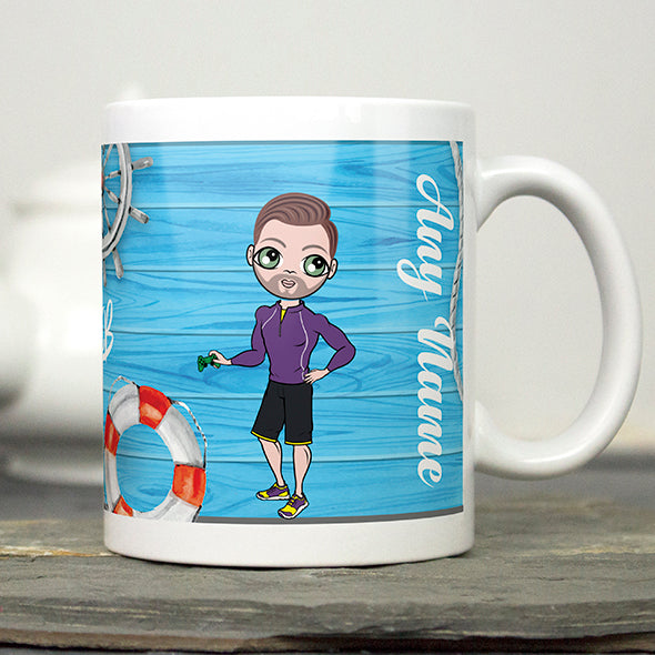 MrCB Nautical Print Mug - Image 4