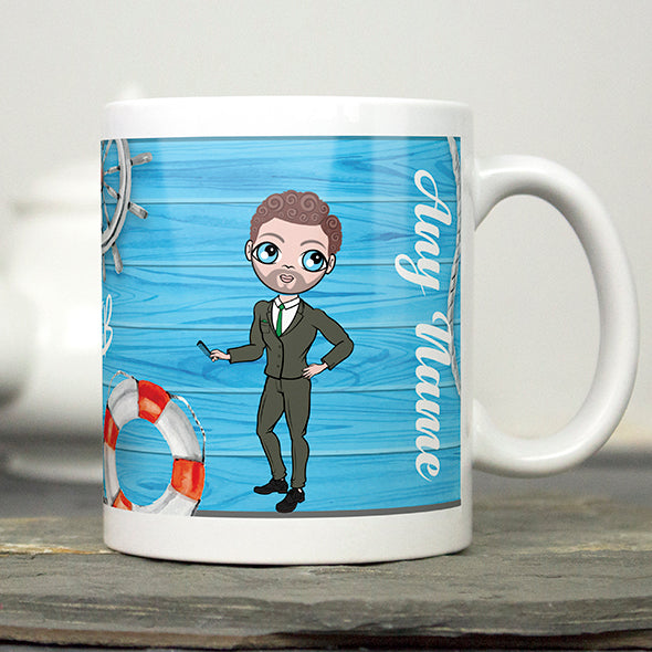 MrCB Nautical Print Mug - Image 3