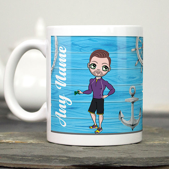 MrCB Nautical Print Mug - Image 2