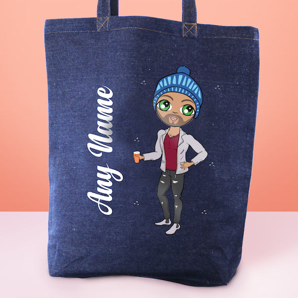 MrCB Denim Canvas Bag - Image 1