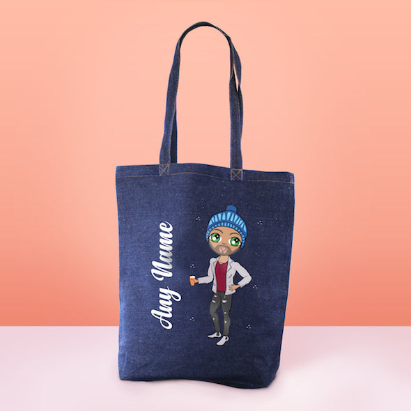 MrCB Denim Canvas Bag - Image 2