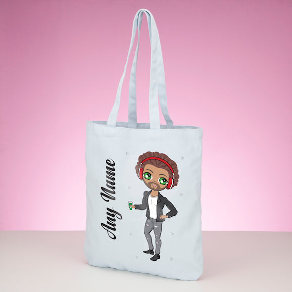 MrCB Pastel Canvas Shopper - Image 1