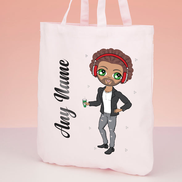 MrCB Pastel Canvas Shopper - Image 2