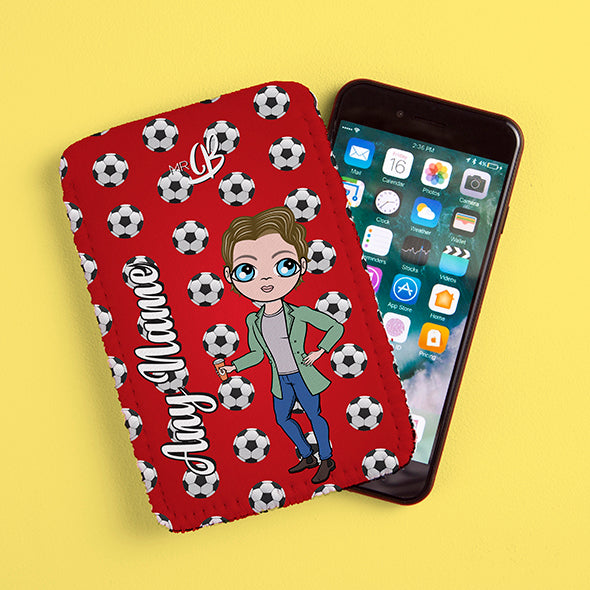 MrCB Football Fabric Phone Case - Image 1