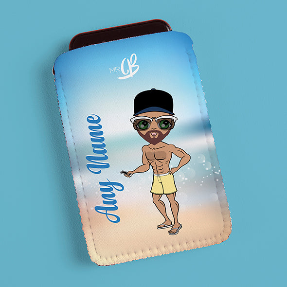 MrCB Beach Colours Fabric Phone Case - Image 1
