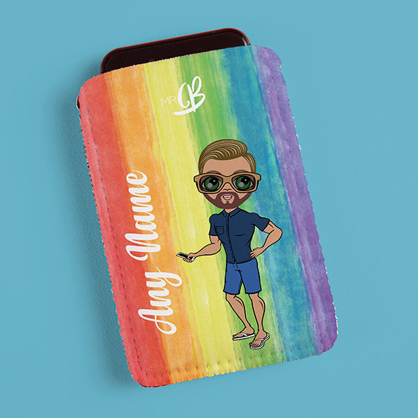 MrCB Rainbow Fabric Phone Case - Image 4