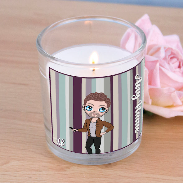 MrCB Scented Candle - Coloured Stripe - Image 2