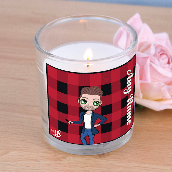 MrCB Scented Candle - Tartan Print - Image 2