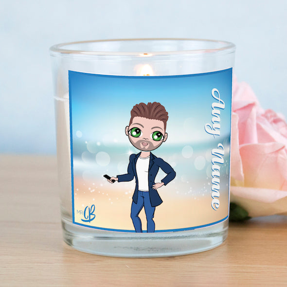 MrCB Scented Candle - Beach Colours - Image 1