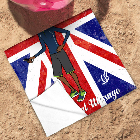 MrCB Union Jack Beach Towel - Image 3