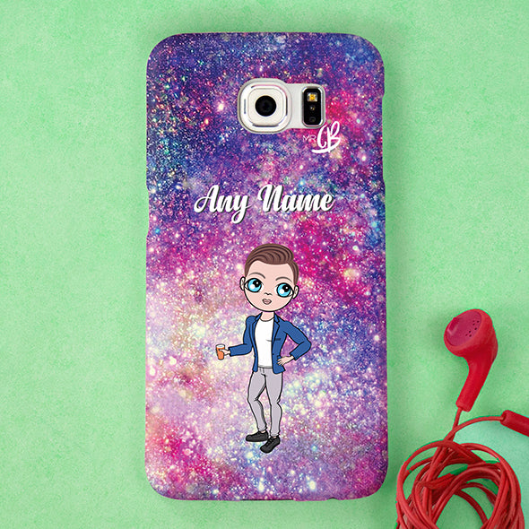 MrCB Glitter Effect Personalised Phone Case - Image 1