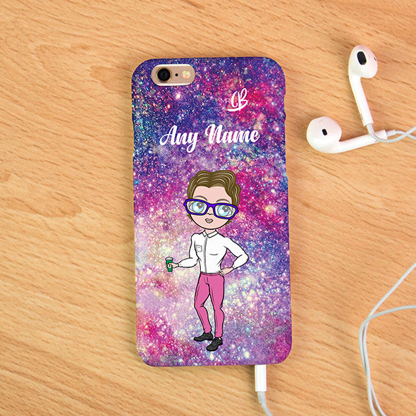 MrCB Glitter Effect Personalised Phone Case - Image 2