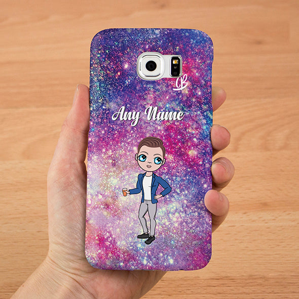 MrCB Glitter Effect Personalised Phone Case - Image 3