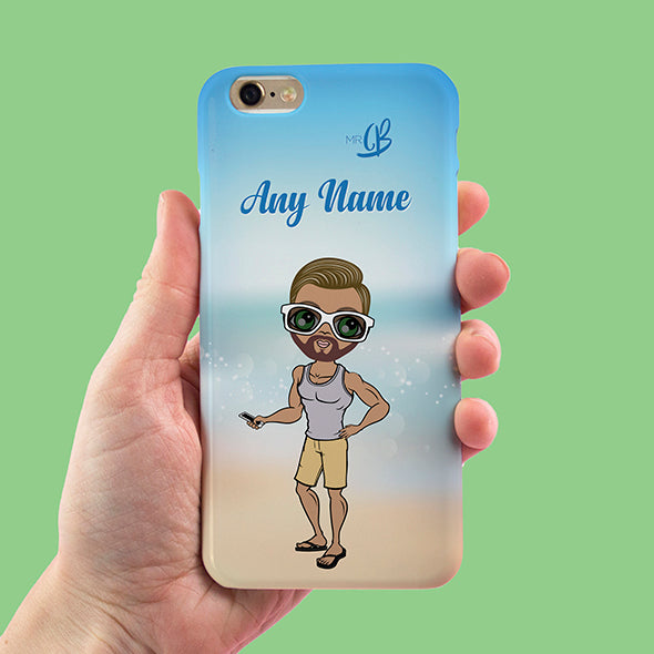 MrCB Beach Colours Personalised Phone Case - Image 3