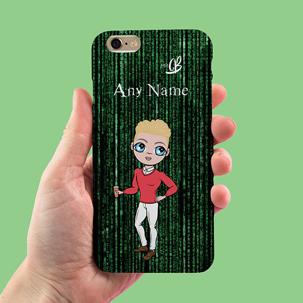 MrCB Code Print Personalised Phone Case - Image 1