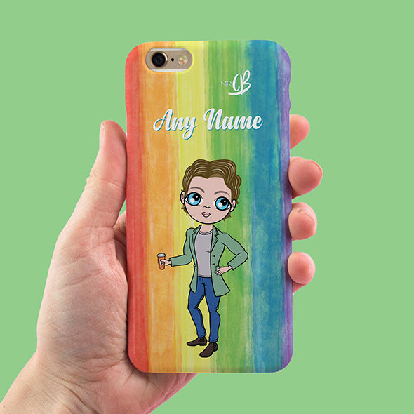 MrCB Rainbow Personalised Phone Case - Image 2