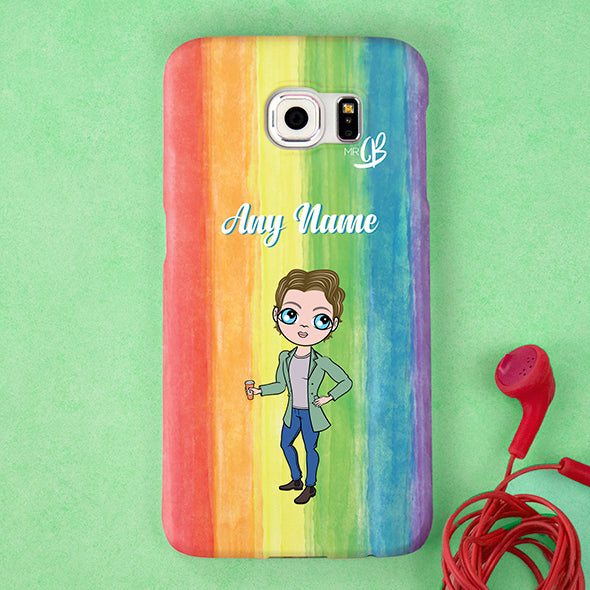 MrCB Rainbow Personalised Phone Case - Image 4