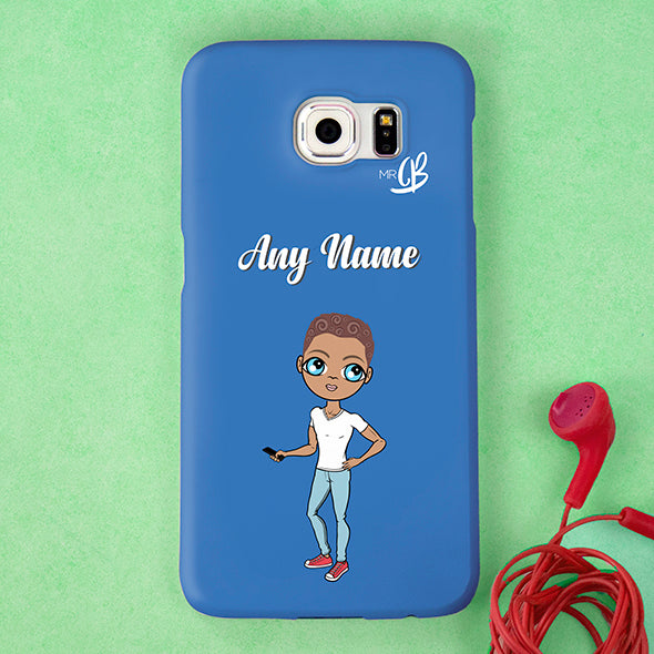 MrCB Blue Personalised Phone Case - Image 4