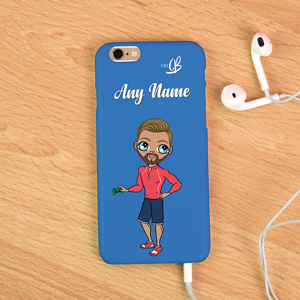 MrCB Blue Personalised Phone Case - Image 1