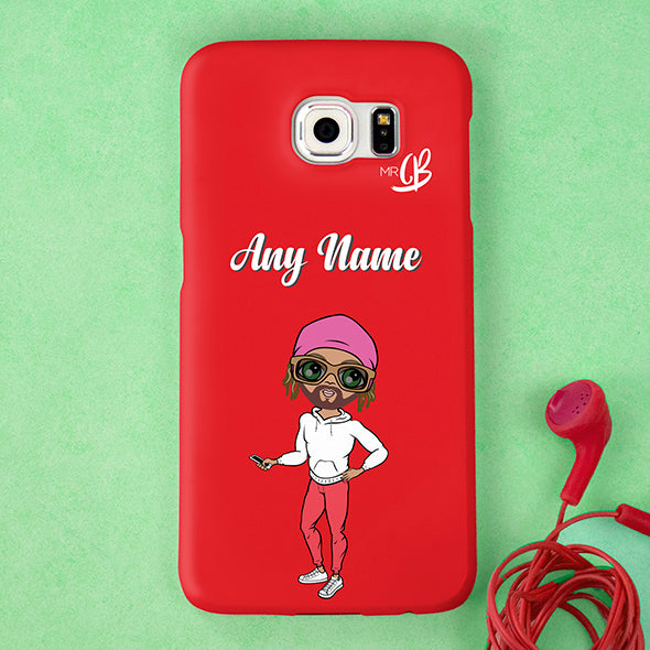 MrCB Red Personalised Phone Case - Image 1
