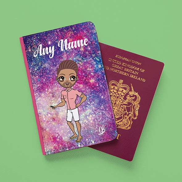 MrCB Glitter Effect Passport Cover - Image 1